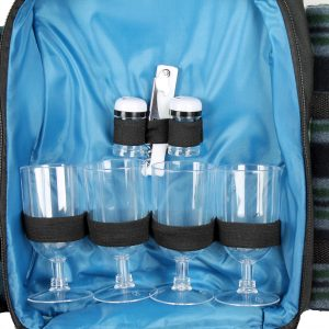 4 person picnic bag set