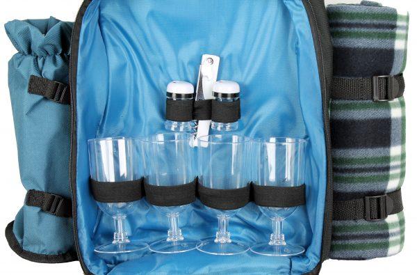 4 person picnic bag set